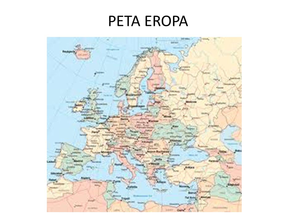 PETA EROPA