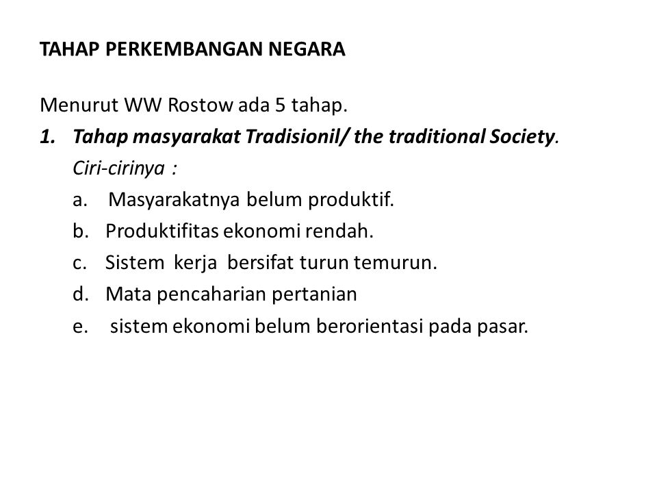 2.Tahap Prakondisi lepas landas/ the Pre condition for teka off Ciri-cirnya a.