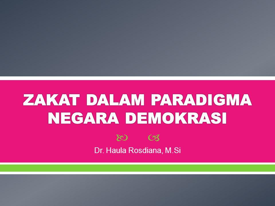  Dr. Haula Rosdiana, M.Si