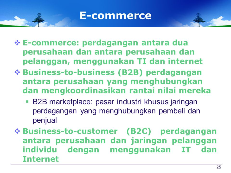 Figure 6.15: Types of E-Commerce 26