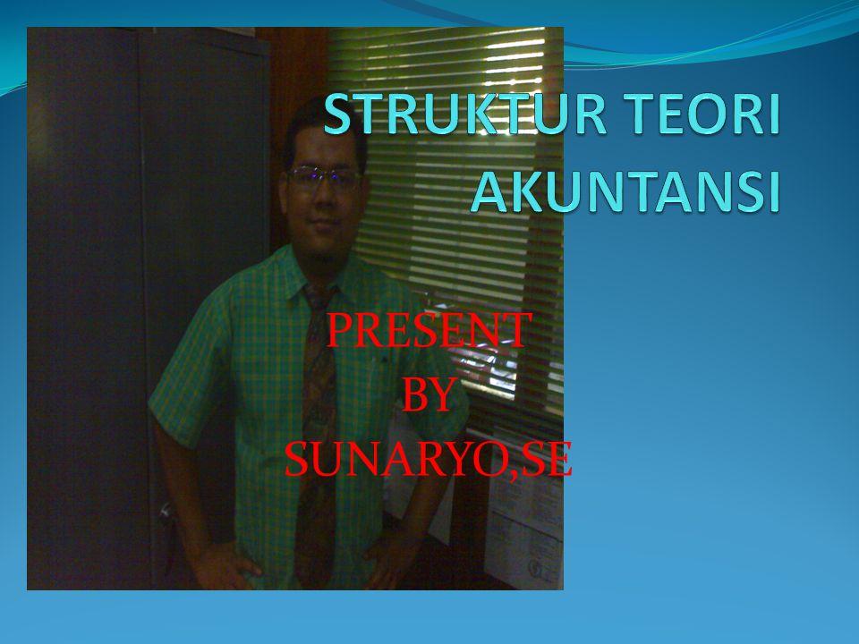 PRESENT BY SUNARYO,SE