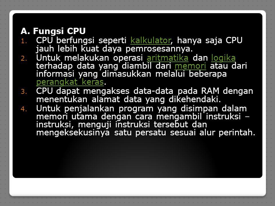 A. Fungsi CPU 1.