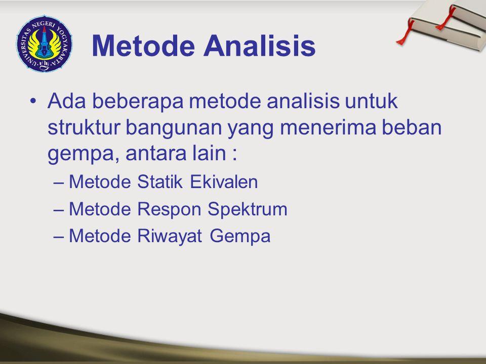 Analisis Metode Statik Ekivalen