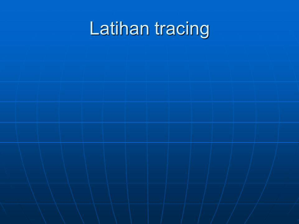 Latihan tracing