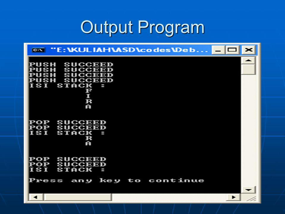 Output Program