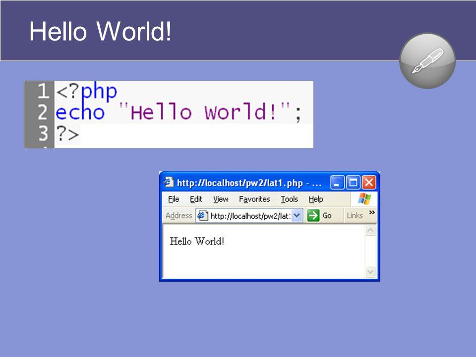 Contoh 5: Contoh – Pemprograman PHP