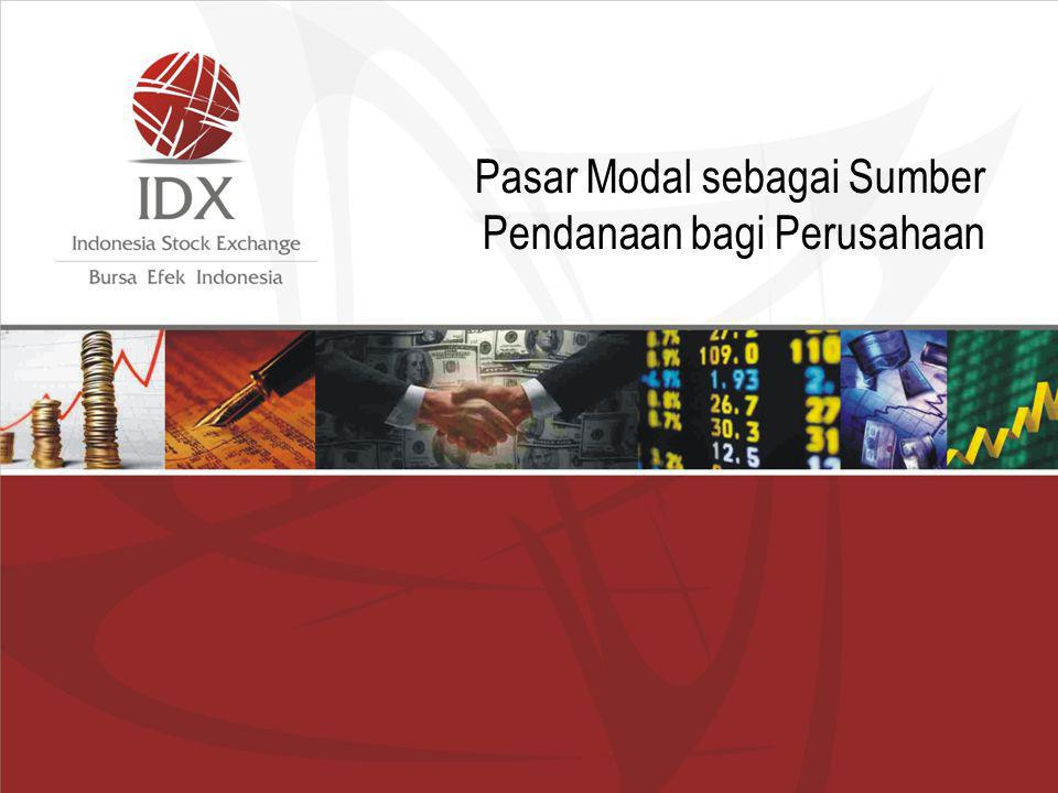 Pasar Modal sebagai Sumber Pendanaan bagi Perusahaan