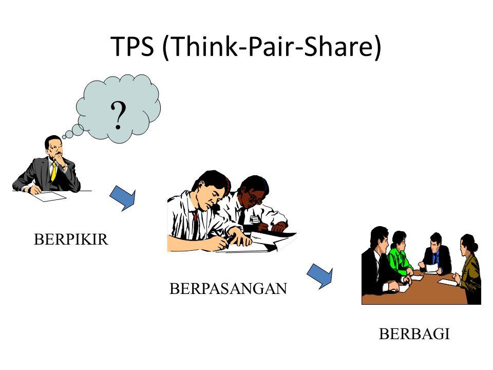TPS (Think-Pair-Share) ? BERPIKIR BERPASANGAN BERBAGI
