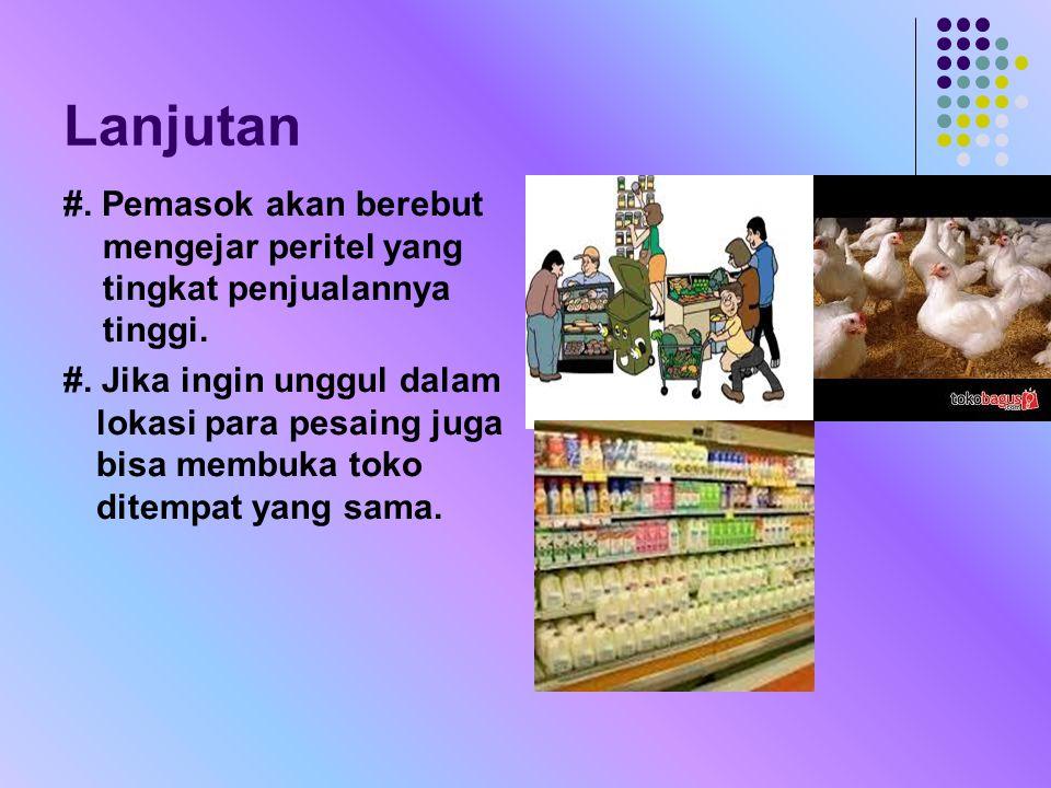 1.Kedua belah pihak perlu bekerjasama untuk memenuhi kebutuhan konsumen.