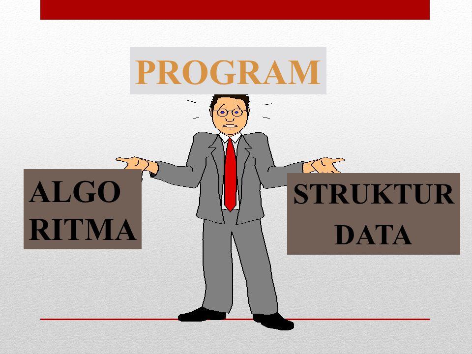 PROGRAM ALGO RITMA STRUKTUR DATA