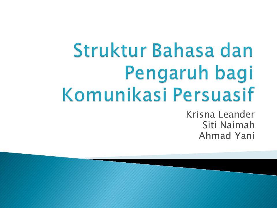 Krisna Leander Siti Naimah Ahmad Yani
