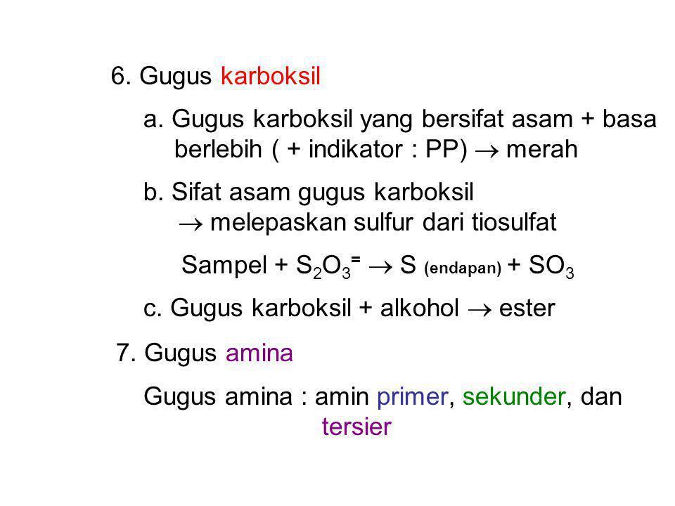6.Gugus karboksil a.