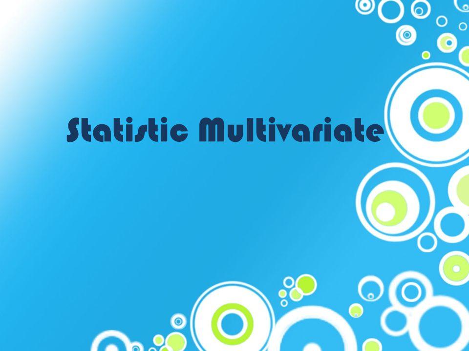 Statistic Multivariate