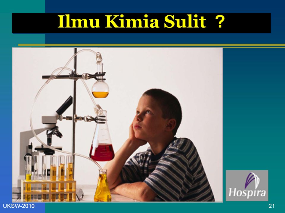 21UKSW-2010 Ilmu Kimia Sulit ?