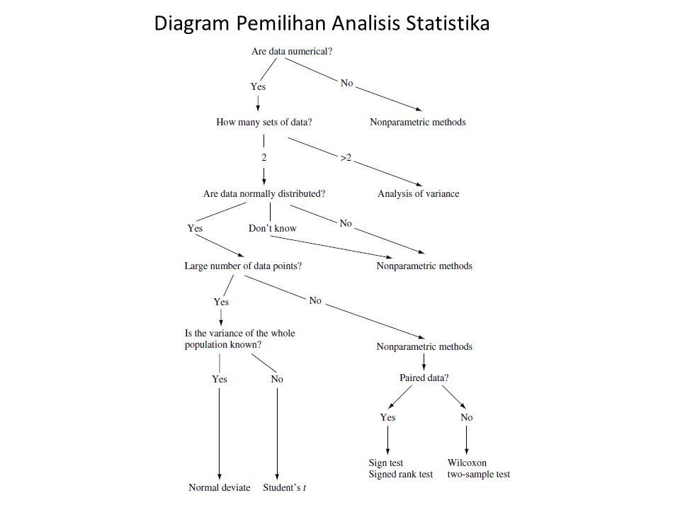 Diagram Pemilihan Analisis Statistika
