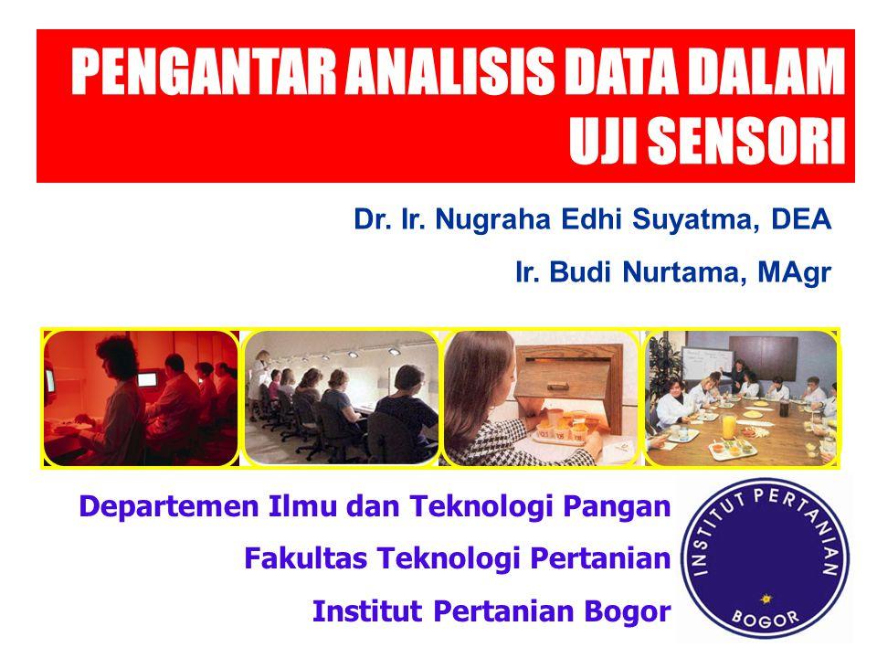 Quantitative Descriptive Analysis Analisis jaring laba-laba (spider web analysis) Statistika lanjut dengan multivariate analysis