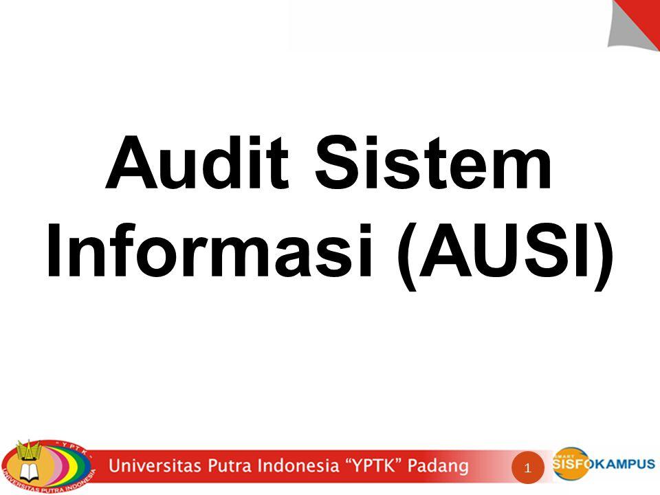 Audit Sistem Informasi (AUSI) 1