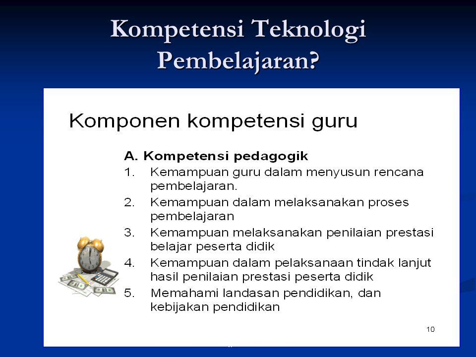 4Teknologi Pendidikan Kompetensi Teknologi Pembelajaran