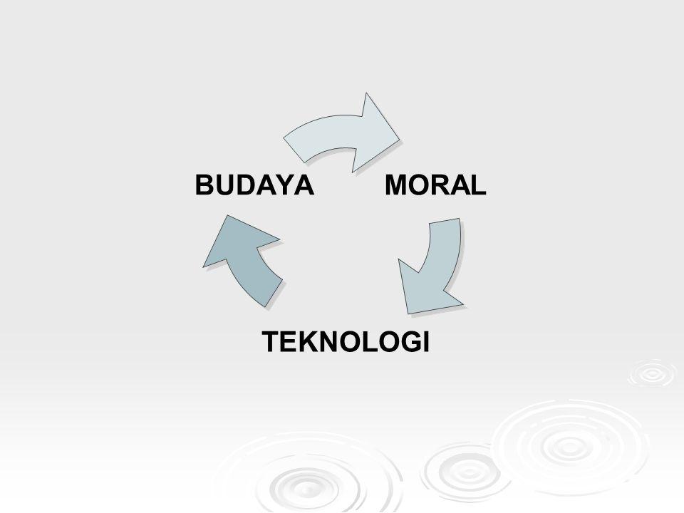 MORAL TEKNOLOGI BUDAYA