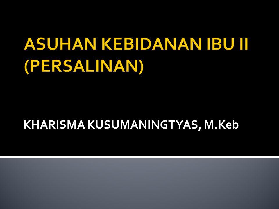 KHARISMA KUSUMANINGTYAS, M.Keb