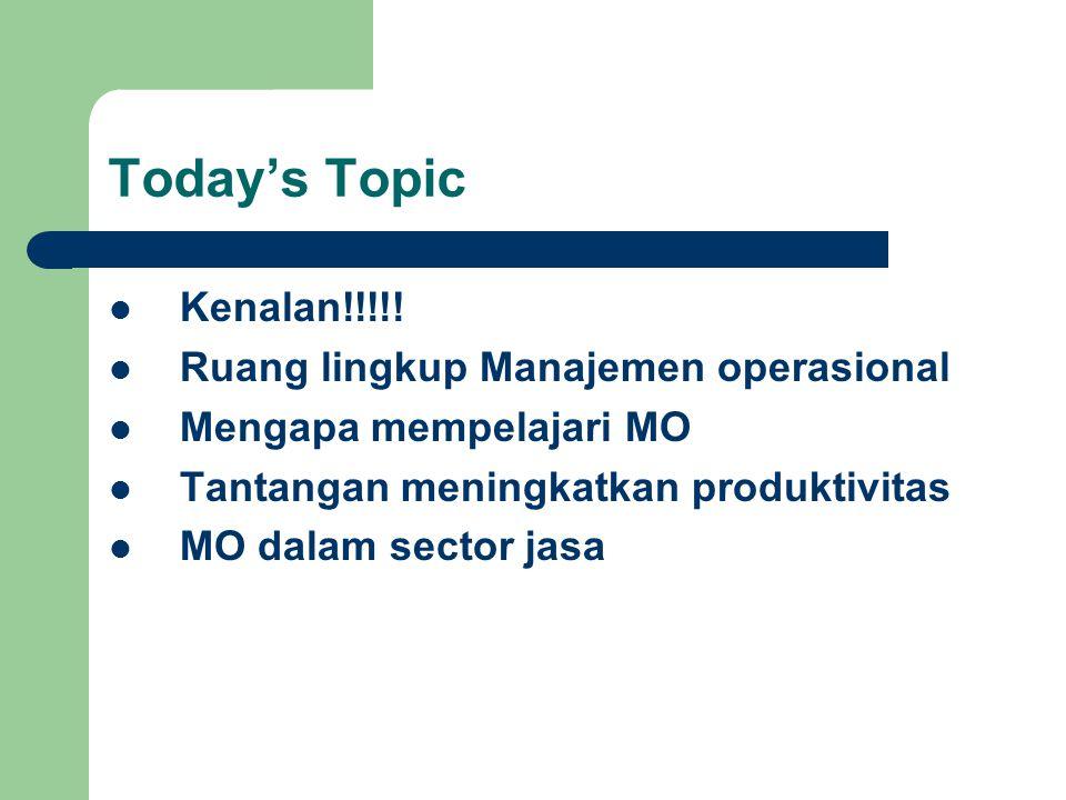 Today's Topic Kenalan!!!!.