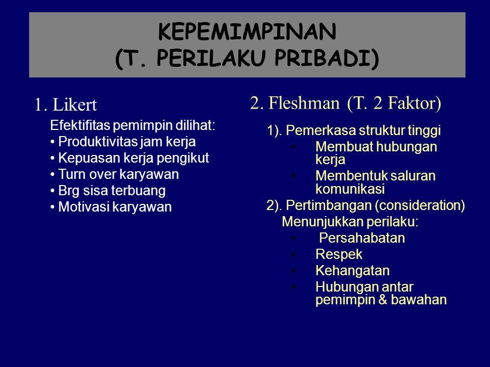 KEPEMIMPINAN (T.