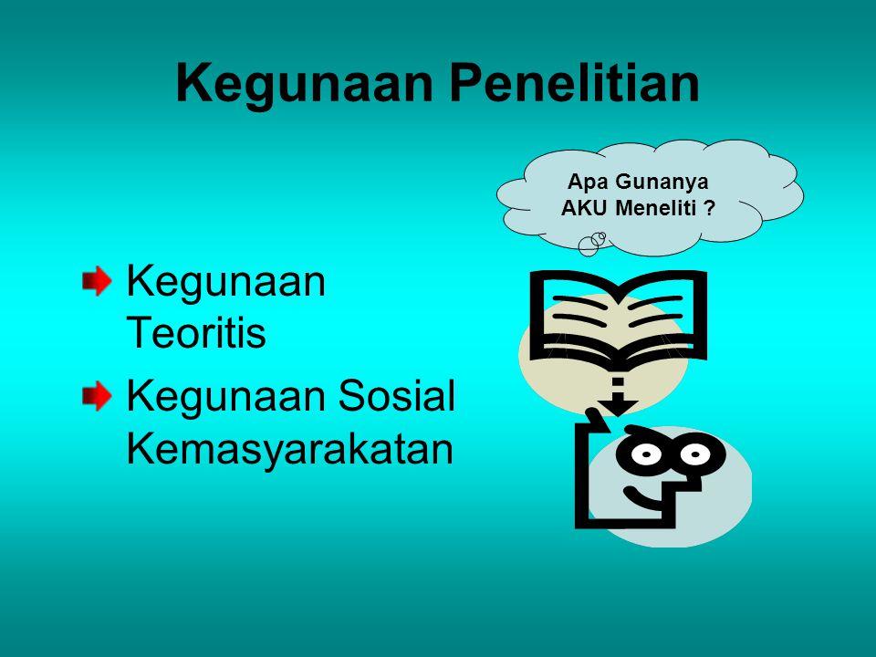 Tinjauan Teoritis Dan Hipotesis 1.Teori bisa dinukil dari literatur disiplin ilmu tertentu, antara lain : Sosiologi, Psikologi, Komunikasi, dsb.