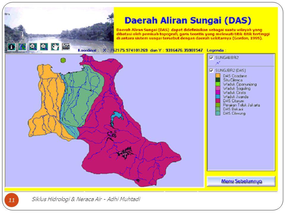 Siklus Hidrologi & Neraca Air - Adhi Muhtadi 11