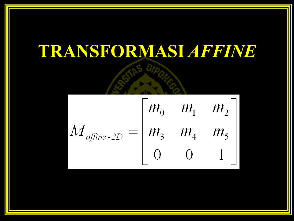 TRANSFORMASI AFFINE