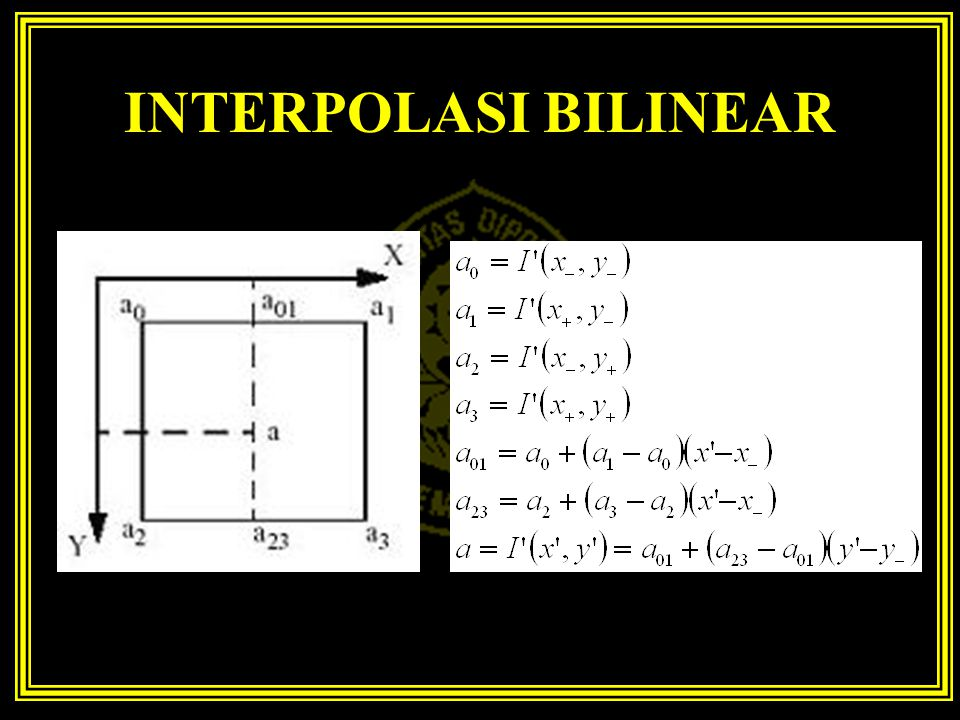 INTERPOLASI BILINEAR