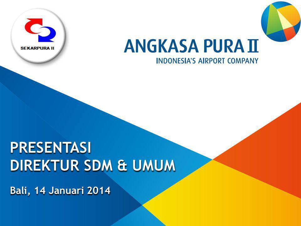 Bali, 14 Januari 2014 PRESENTASI DIREKTUR SDM & UMUM PRESENTASI DIREKTUR SDM & UMUM