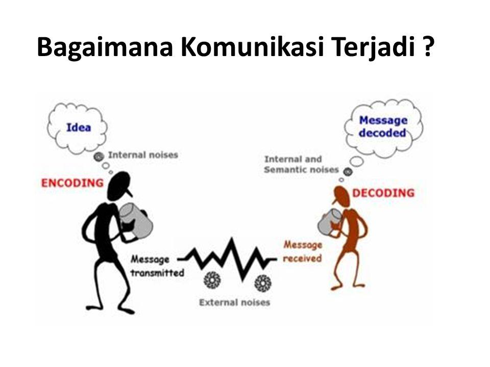 Bagaimana Komunikasi Terjadi ?