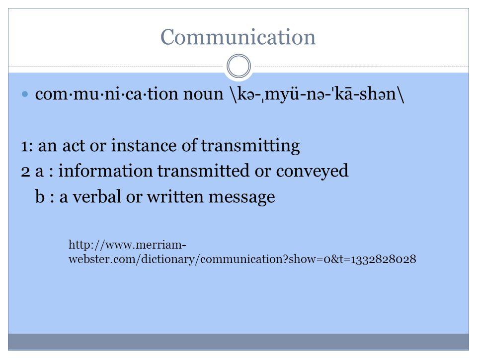 Carl Hovland, mendefinisikan komunikasi sebagai proses yang membuat individu mengirimkan rangsangan untuk mengubah perilaku individu lain (Rachmat, 1985: 3).
