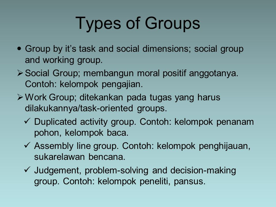 Paradigma sistem pada komunikasi kelompok A System is a set of things that relate to one another and form a whole.