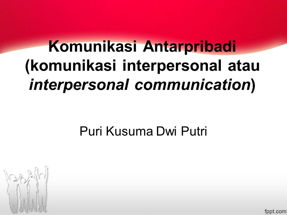 Interpersonal? Intrapersonal? Impersonal?