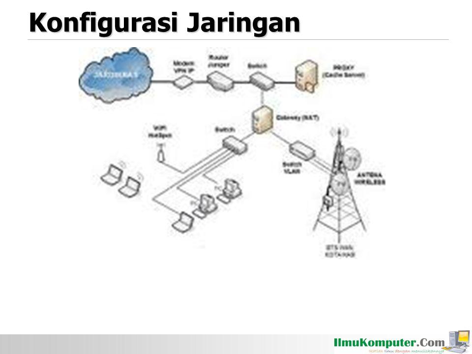 Konfigurasi Jaringan