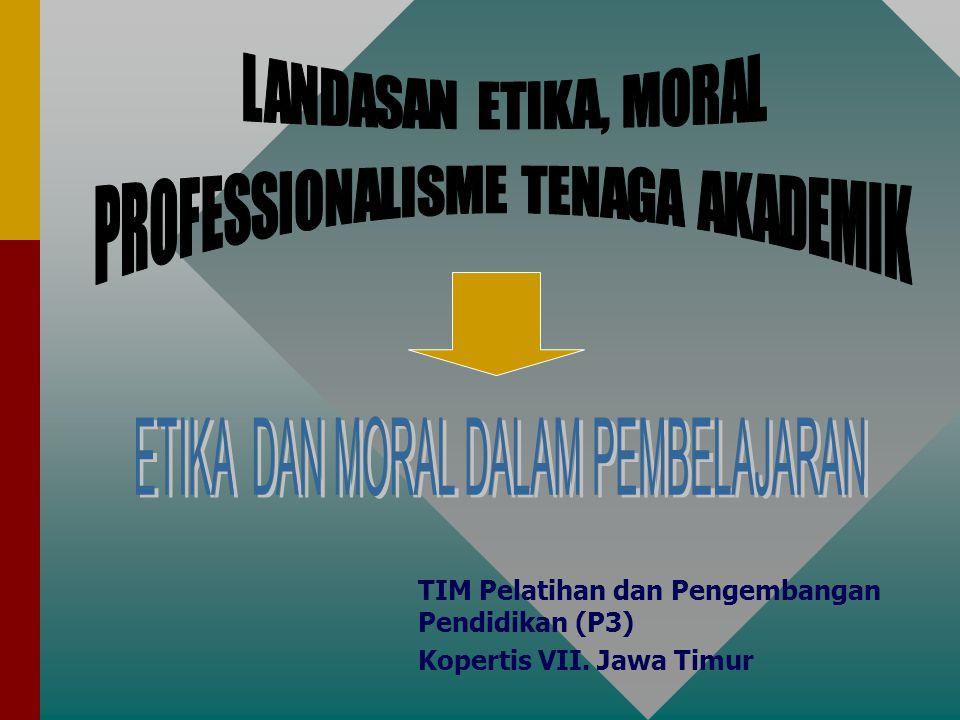 12 MORAL Sarana untuk mengukur benar tidaknya tindakan manusia