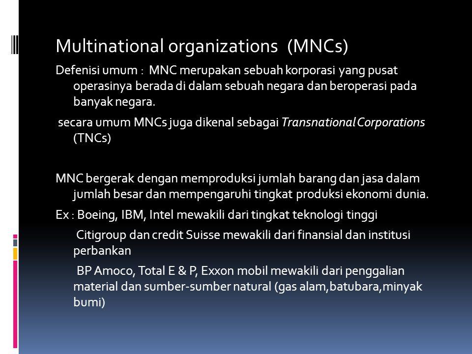  Ukuran korporasi yang besar, jumlah produksi yang besar, dan bentuknya yang sentralisasi.