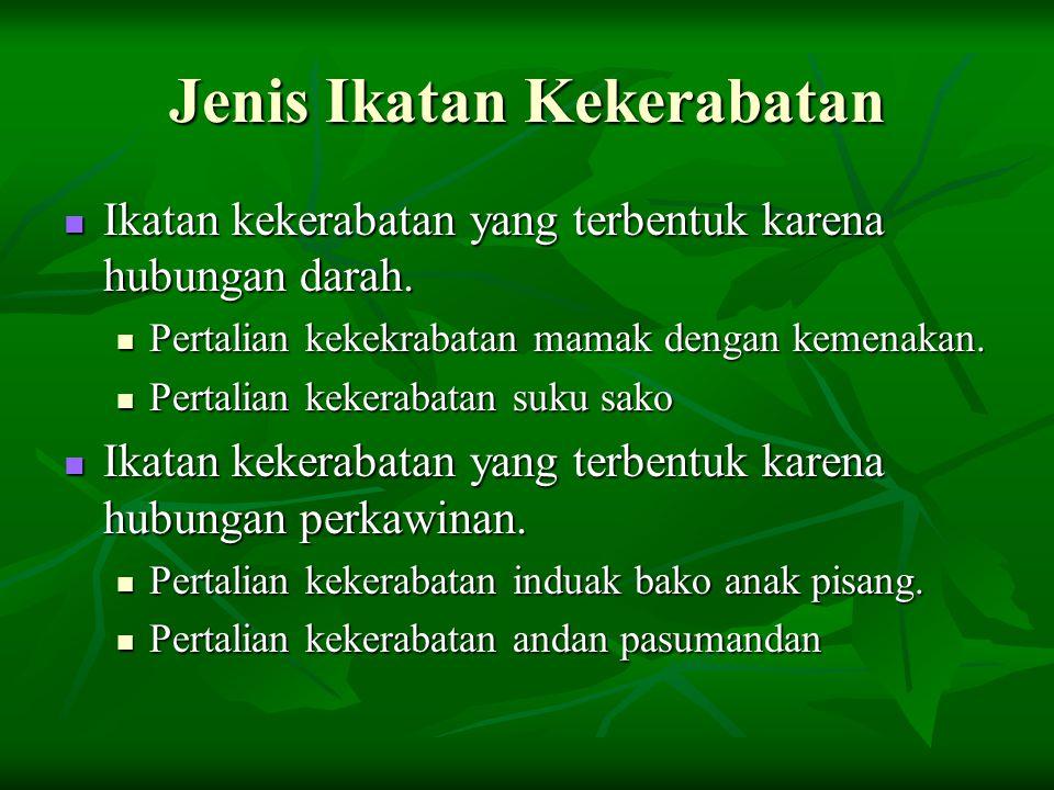 Musyawarah Untuk Mencapai Mufakat Di Minangkabau berlaku prinsip musyawarah dalam mencapai suatu kesepakatan.