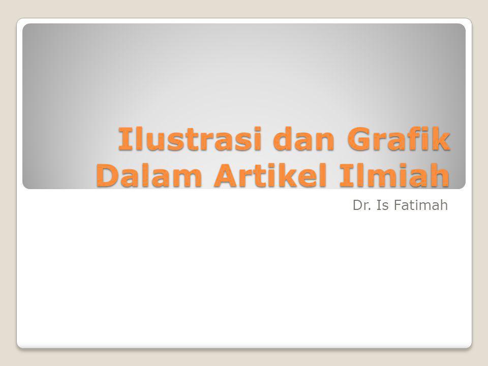 Ilustrasi dan Grafik Dalam Artikel Ilmiah Dr. Is Fatimah