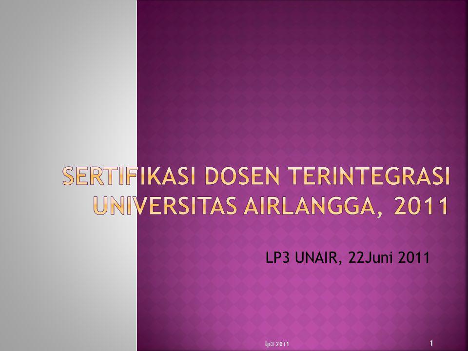 LP3 UNAIR, 22Juni 2011 1 lp3 2011