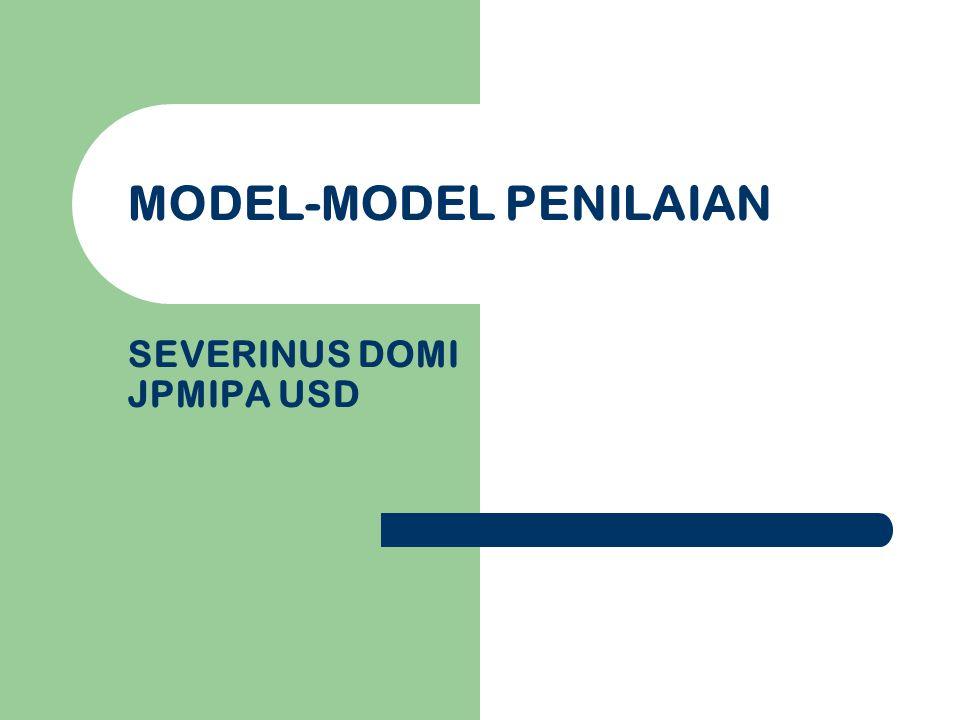 Kompetensi Dasar memahami konsep-konsep dan prinsip-prinsip dasar penilaian kelas.
