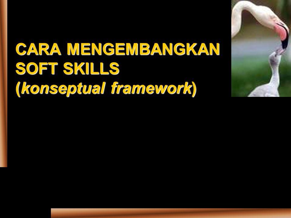 CARA MENGEMBANGKAN SOFT SKILLS (konseptual framework)