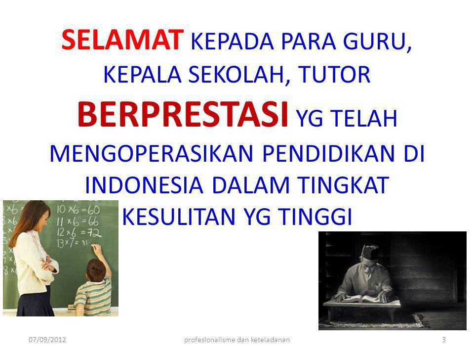 SELAMAT KEPADA PARA GURU, KEPALA SEKOLAH, TUTOR BERPRESTASI YG TELAH MENGOPERASIKAN PENDIDIKAN DI INDONESIA DALAM TINGKAT KESULITAN YG TINGGI 07/09/20
