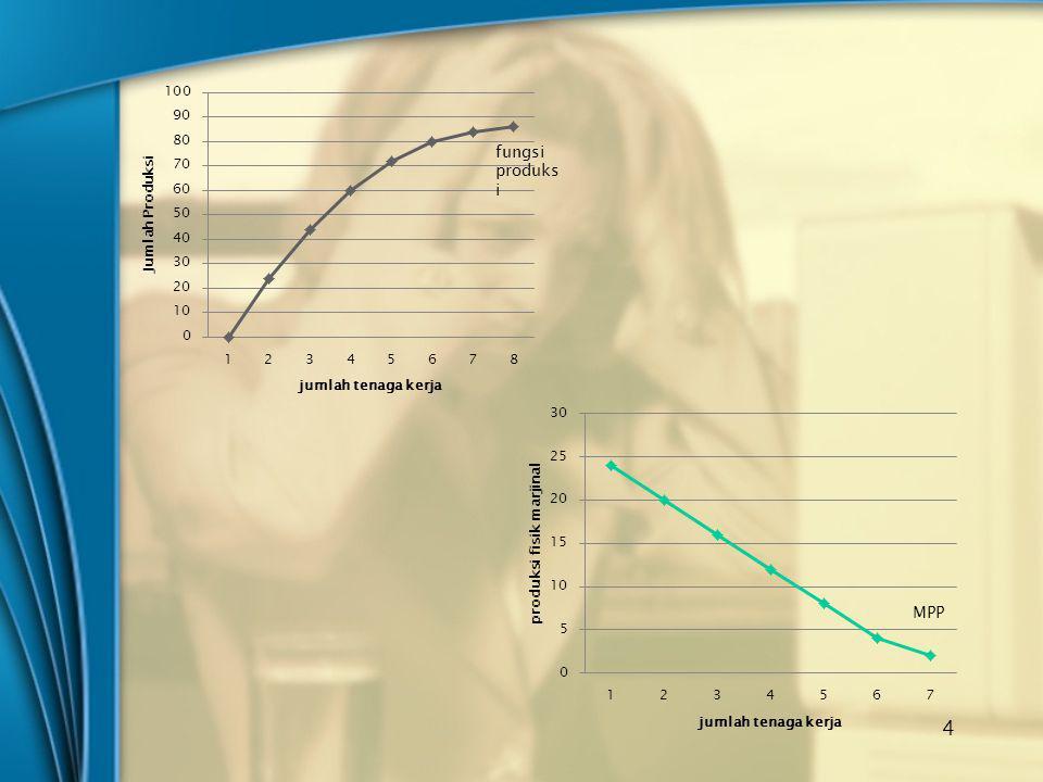 MRP Hasil penjualan marjinal Jumlah tenaga kerja 5