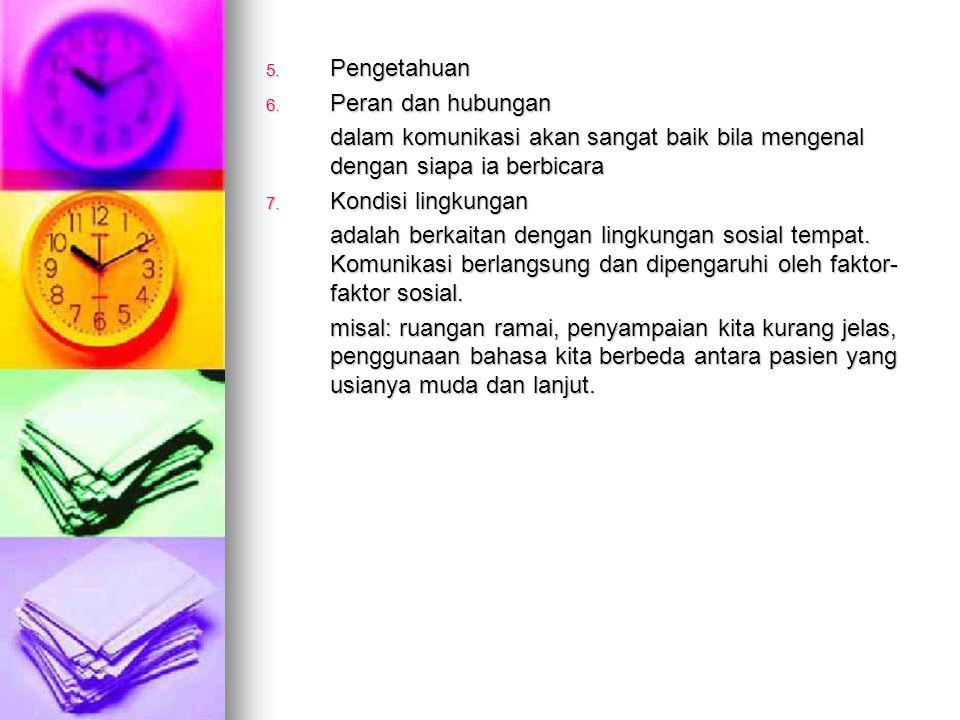 5.Pengetahuan 6.