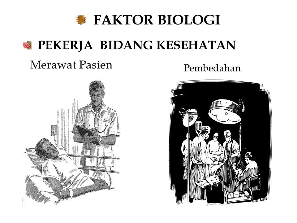FAKTOR BIOLOGI PEKERJA BIDANG KESEHATAN Merawat Pasien Pembedahan