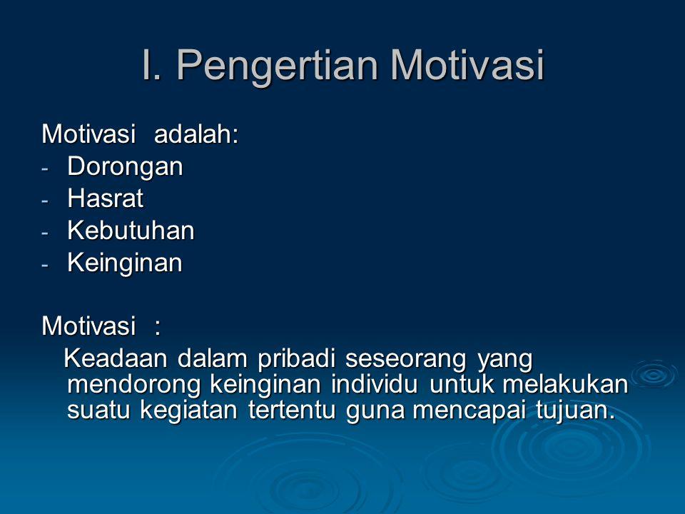 E.Motivasi dan Pengaruhnya Terhadap Peningkatan Prestasi Pelajar E.