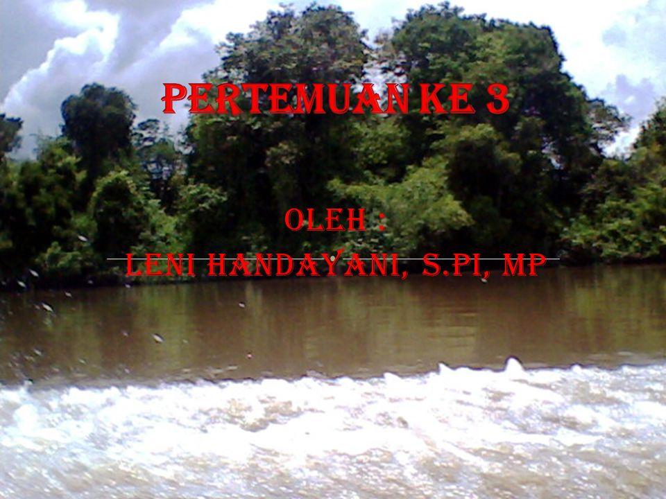 oleh : LENI HANDAYANI, S.PI, MP