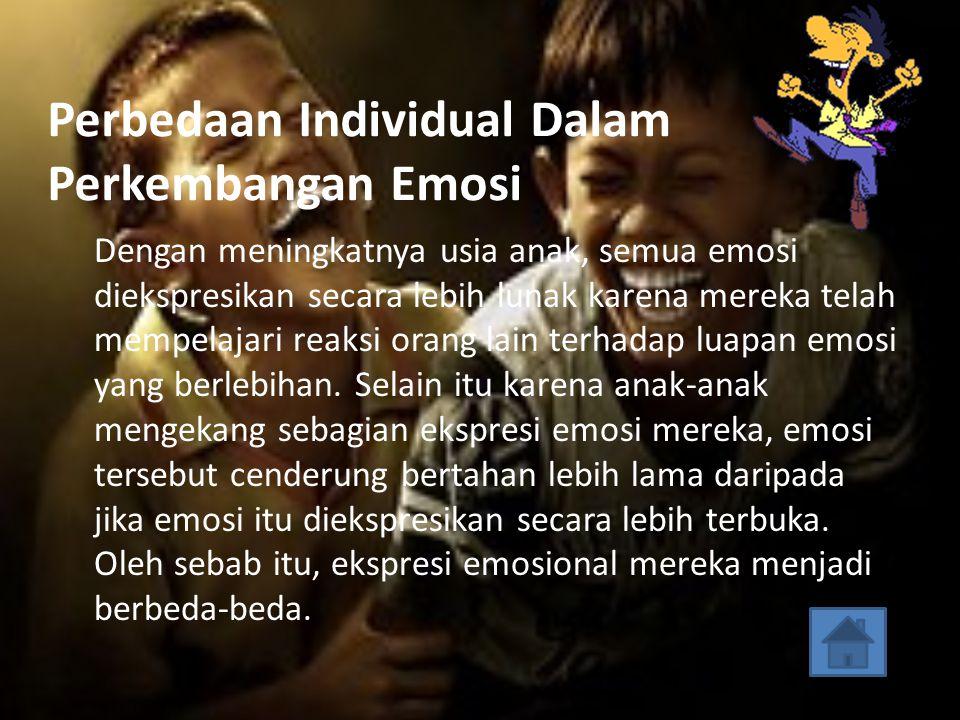 Hubungan Antara Emosi Dan Tingkah Laku Serta Pengaruh Emosi Terhadap Tingkah Laku Sikap takut, malu-malu merupakan akibat dari ketegangan emosi dan da